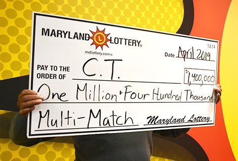 Multi-Match Jackpot Winner Claims His Prize