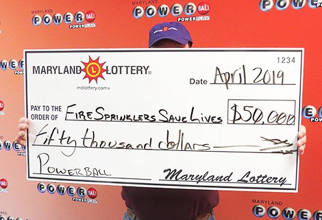 $50,000 Winner Promotes Fire Safety after Hot Powerball Hit