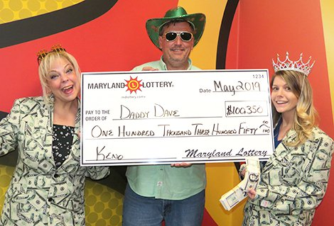 Business Lunch Keno Wager Gives Family a $100,350 Prize