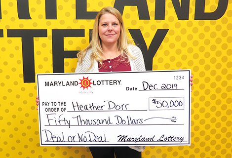 What a Deal! Pasadena Player Wins $50,000 on DEAL OR NO DEAL™ Scratch-off
